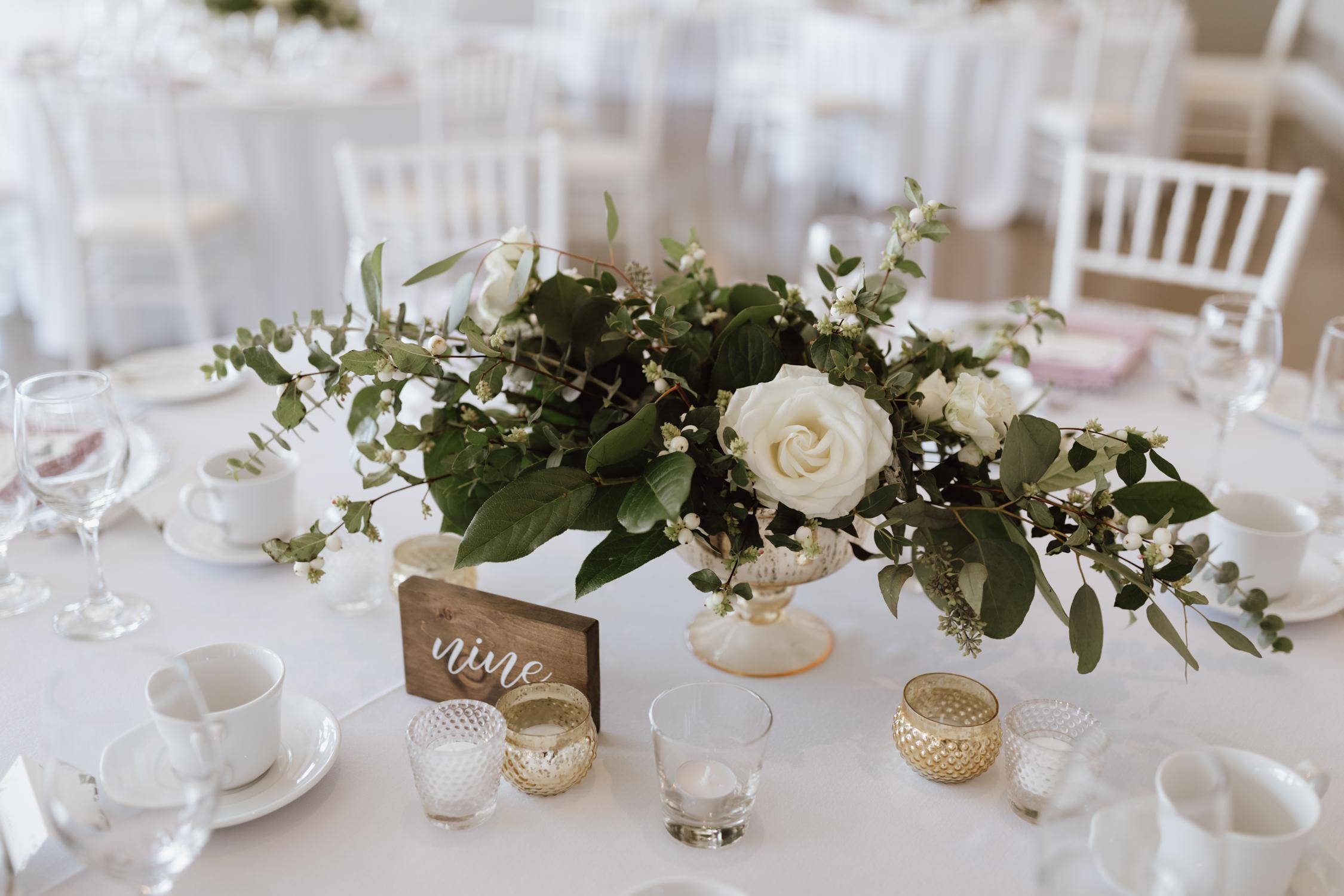 Le Belvédère Wedding reception