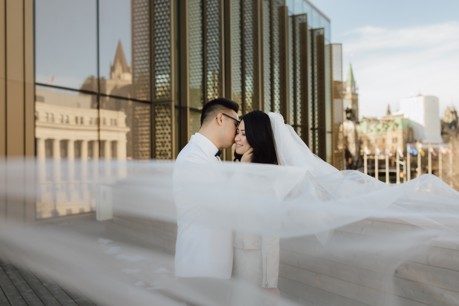Ottawa downtown wedding