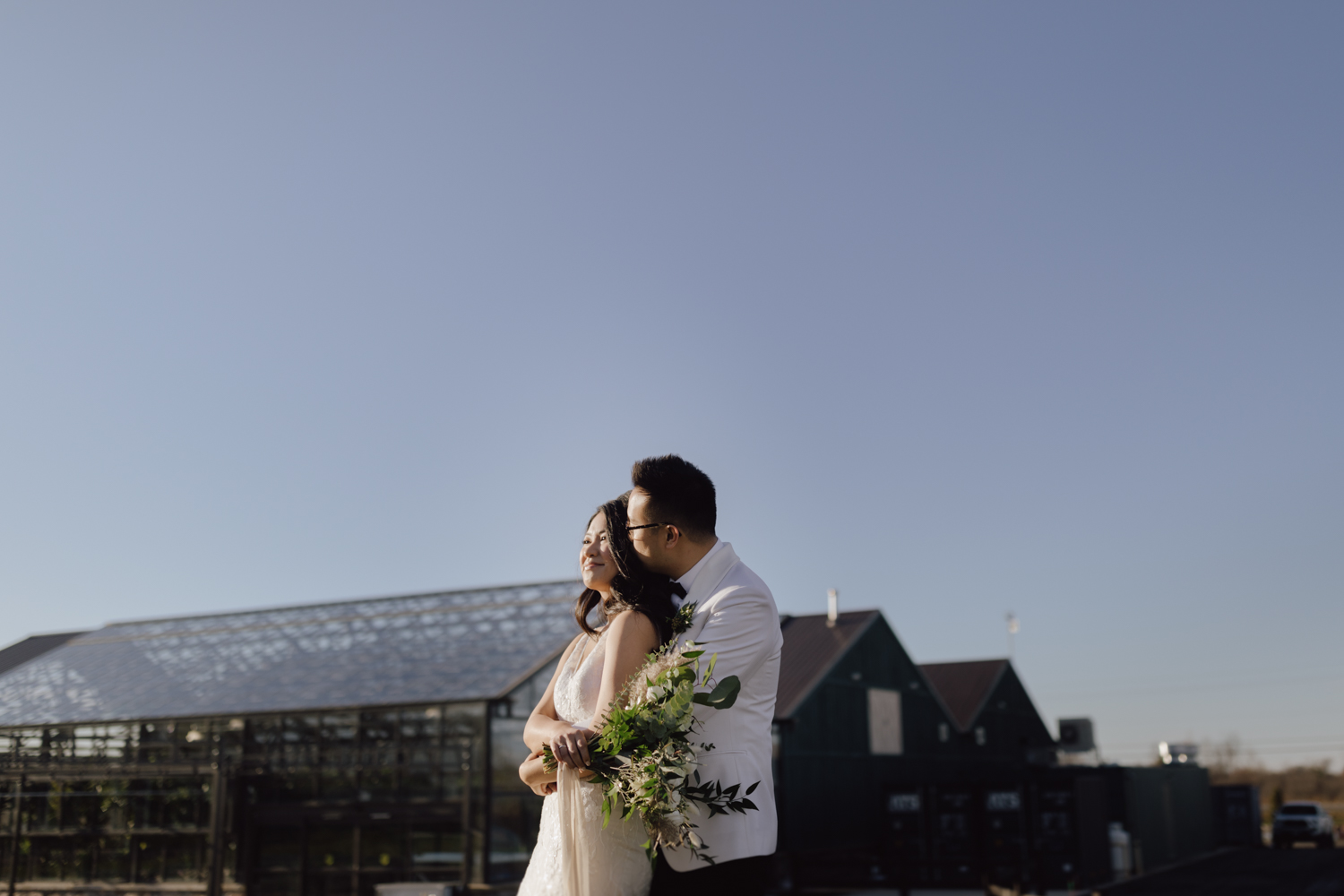 Ottawa greenhouse wedding