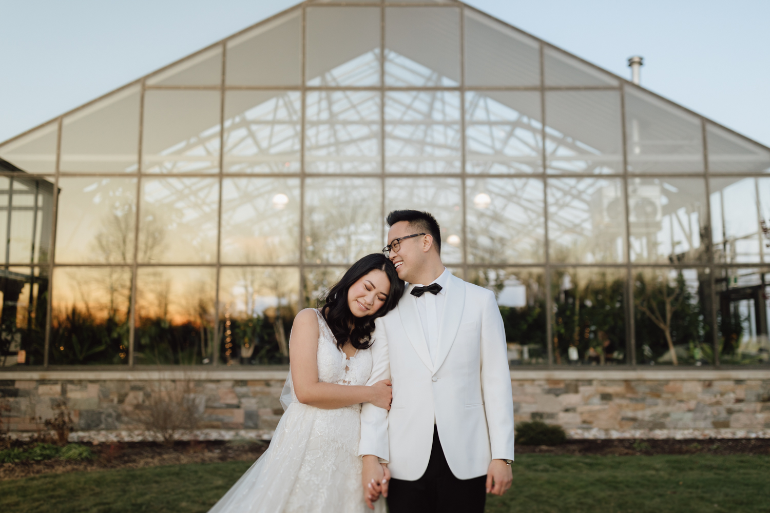 Ontario greenhouse wedding