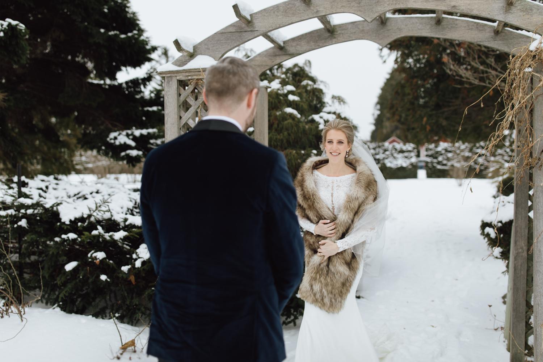Ottawa winter wedding
